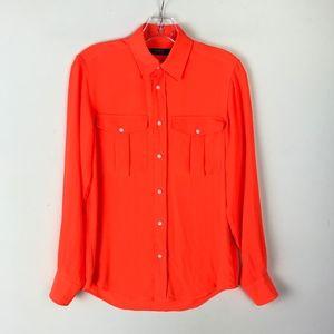 Polo Ralph Lauren Button Down Blouse #1737